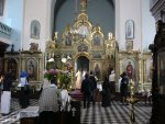 Tbilisi : inside Russian Orthodox church