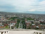 Yerevan : from the Cascade Steps